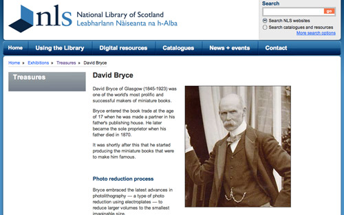 National Library of Scotland / David Bryce
