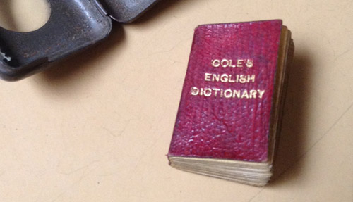 Cole's English Dictionary